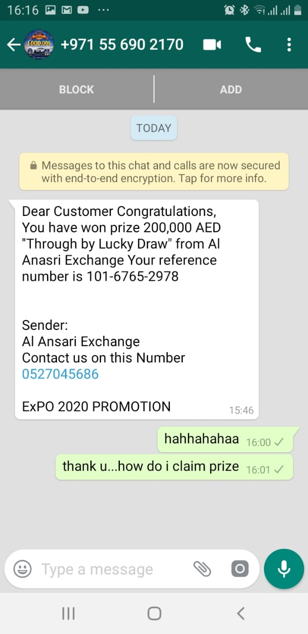 Warning! This Dubai Expo 2020 phone call is a scam - News
